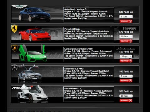 Las Vegas Supercar Rentals By Ian King At Exotic Racing