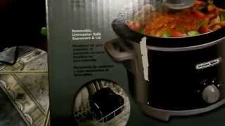 Proctor Silex 4-Quart Slow Cooker Unboxing.