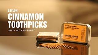 Ceylon Cinnamon Toothpicks