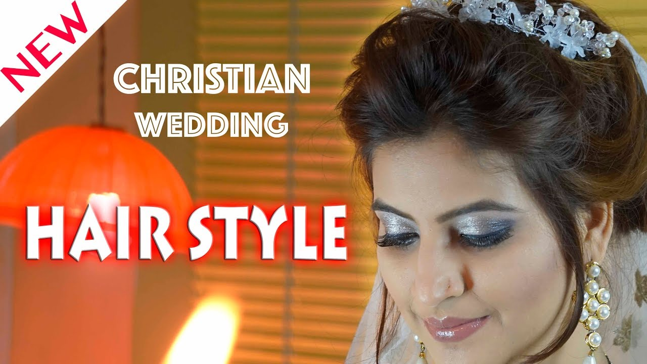 christian wedding hairstyles | perfect wedding hair art for girls | bride hairstyle