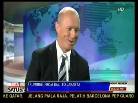 Running From Bali to Jakarta: Scott Thompson Interview on Insight Indonesia Berita Satu