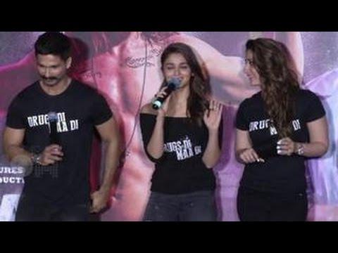 Alia Bhatt ABUSES at Udta Punjab Trailer Launch   Shahid Kapoor, Kareena Kapoor Khan