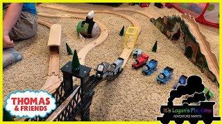 Logan new wooden railway tracks from KidtoKid | Train Toys for Kids