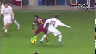 Quand les U13 du Barça martyrisent le Real Madrid