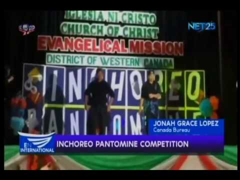 Inchoreo Pantomine Competition - Jonah Grace Lopez from EBC Canada Bureau