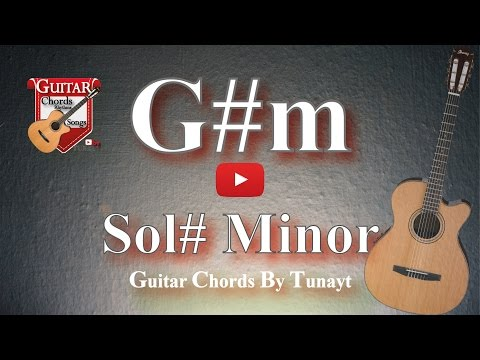 Sol# minor | How to play G#m chord on guitar | Sol diyez Minor Akoru Gitarda Nas?l Bas?l?r ?