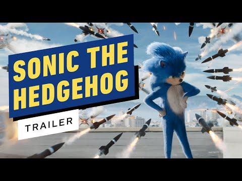 Sonic the Hedgehog -  Trailer 2019 Ben Schwartz Jim Carrey