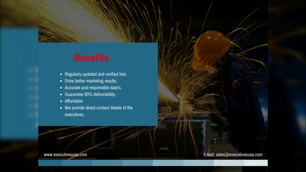 Manufacturing Industry Mailing List