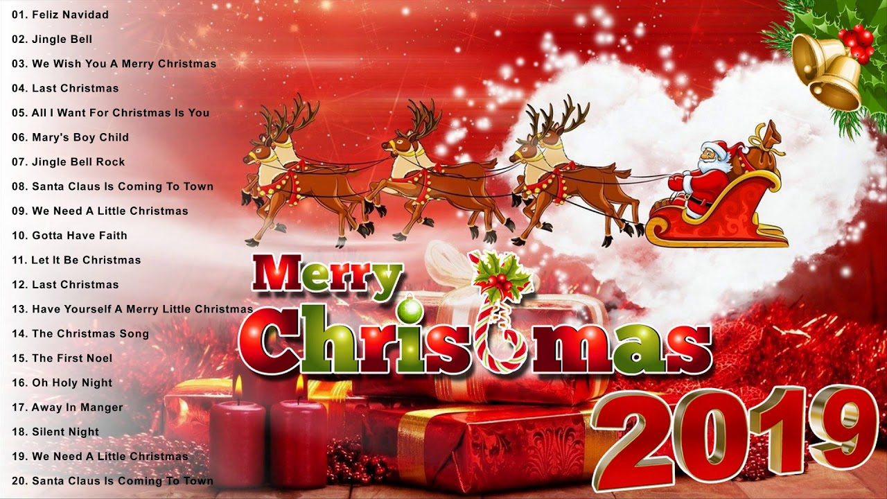 Merry Christmas 2019 Top 100 Merry Christmas Songs 2019
