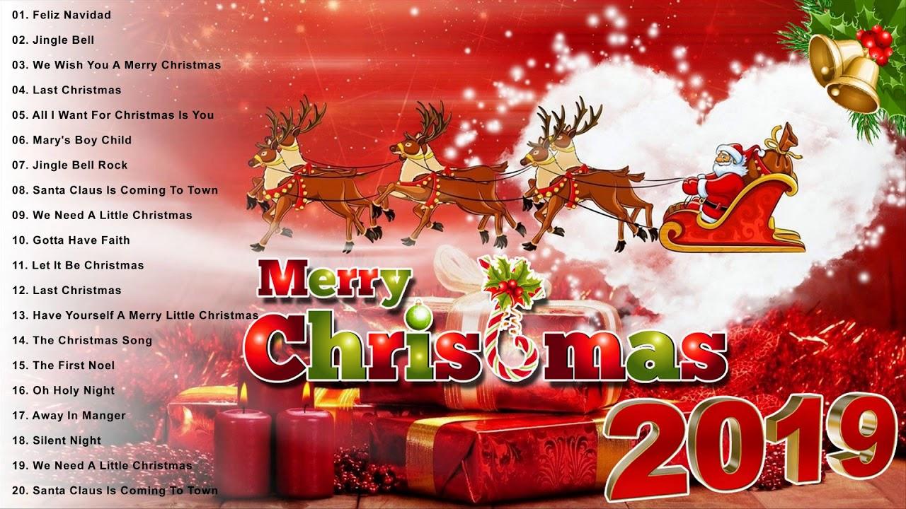 Merry Christmas 2019 Top 100 Merry Christmas Songs 2019