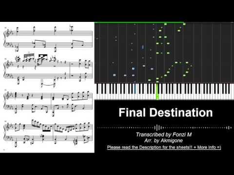 """[Super Smash Bros. Brawl OST] """"Final Destination"""" // Akmigone (Piano Tutorial) [w/ Free Sheets DL]"""