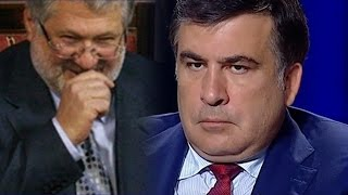 "Саакашвили в эфире ""наехал"" на Коломойского и Палица - Шустер live 2015"