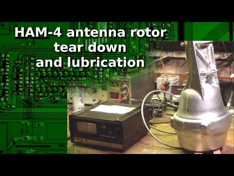 Ham Radio - What's inside an Antenna Rotor? Tear down and