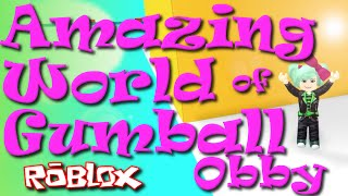 ROBLOX | Amazing World of Gumball Obby | SallyGreenGamer