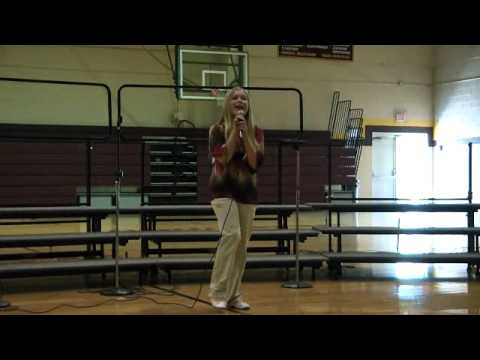 Jessie Lee singing Jesus and Gravity/ Dolly Parton