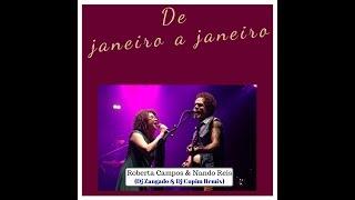 Roberta Campos e Nando Reis  De Janeiro a Janeiro  Dj Zangado e Dj Cupim Remix  Clip