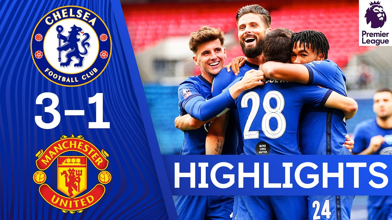 Download Chelsea 3-1 Manchester United   Dominant Performance Send Blues To The Final   FA Cup Highlights