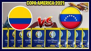 COLOMBIA vs VENEZUELA - Album COPA AMERICA 2021 Panini