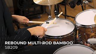MEINL Stick & Brush Rebound Multi-Rod Bamboo SB209