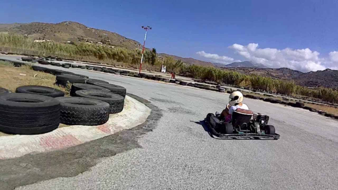 A Go Kart Day In Naxos Island Youtube