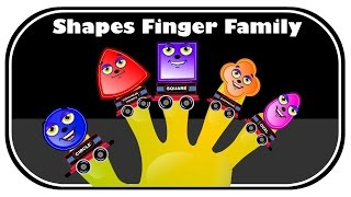 Finger Family Shapes Finger Family | Finger  Family Songs | Finger Family