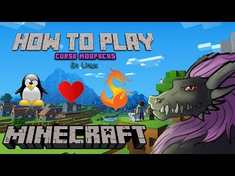 How to Play Curse Launcher Modpacks on Linux - YouTube