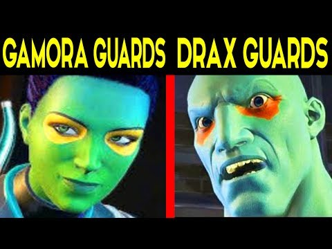 Guardians of the Galaxy Telltale CHOICE: : GEMORA GUARDS NEBULA / DRAX GUARDS NEBULA
