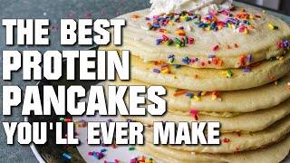 The Best Protein Pancakes You'll Ever Make (23g Protein Per Pancake)