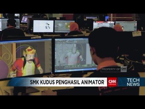 Tech News: SMK RUS Kudus, Sekolah Penghasil Animator
