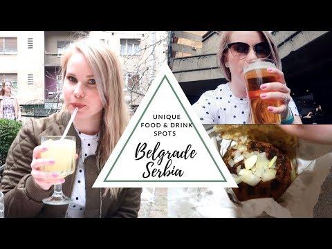 Belgrade Serbia Travel Vlog | Trying Serbian Beer & Foods