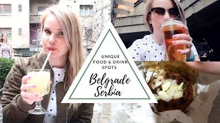 Belgrade Serbia Travel Vlog | Trying Serbian Beer & Foods