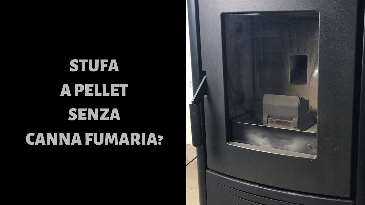Stufa a pellet senza canna fumaria esiste youtube for Stufe pellet senza canna fumaria nordica