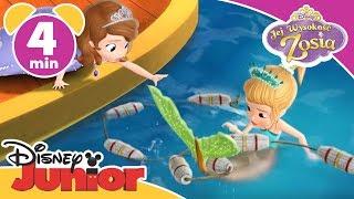 Jej Wysokość Zosia - Pływający pałac. Oglądaj w Disney Junior!