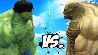 - THE INCREDIBLE HULK VS ABOMINATION EPIC BATTLE