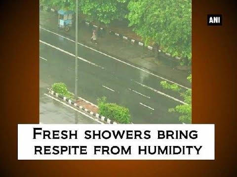 Fresh showers bring respite from humidity - Delhi News