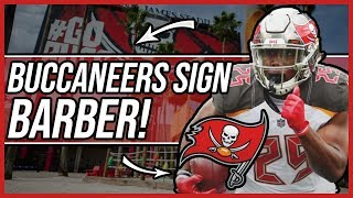 Tampa bay buccaneers RE-SIGN Peyton Barber to a 1 year deal! Will he break the Starting RB?