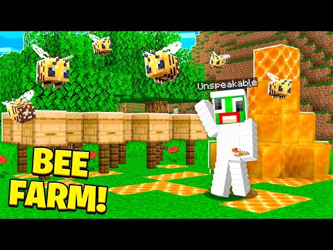 HOW TO MAKE A BEE FARM IN MINECRAFT! Latest Gaming Videos on VIRAL CHOP VIDEOS