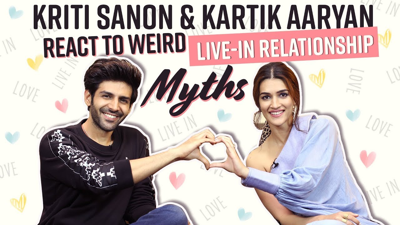 Kriti Sanon and Kartik Aaryan react to weird Live-in relationship myths | Luka Chuppi | Bollywood