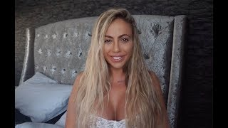 Holly Hagan hair extensions care tips - sulphate free shampoo for hair extensions