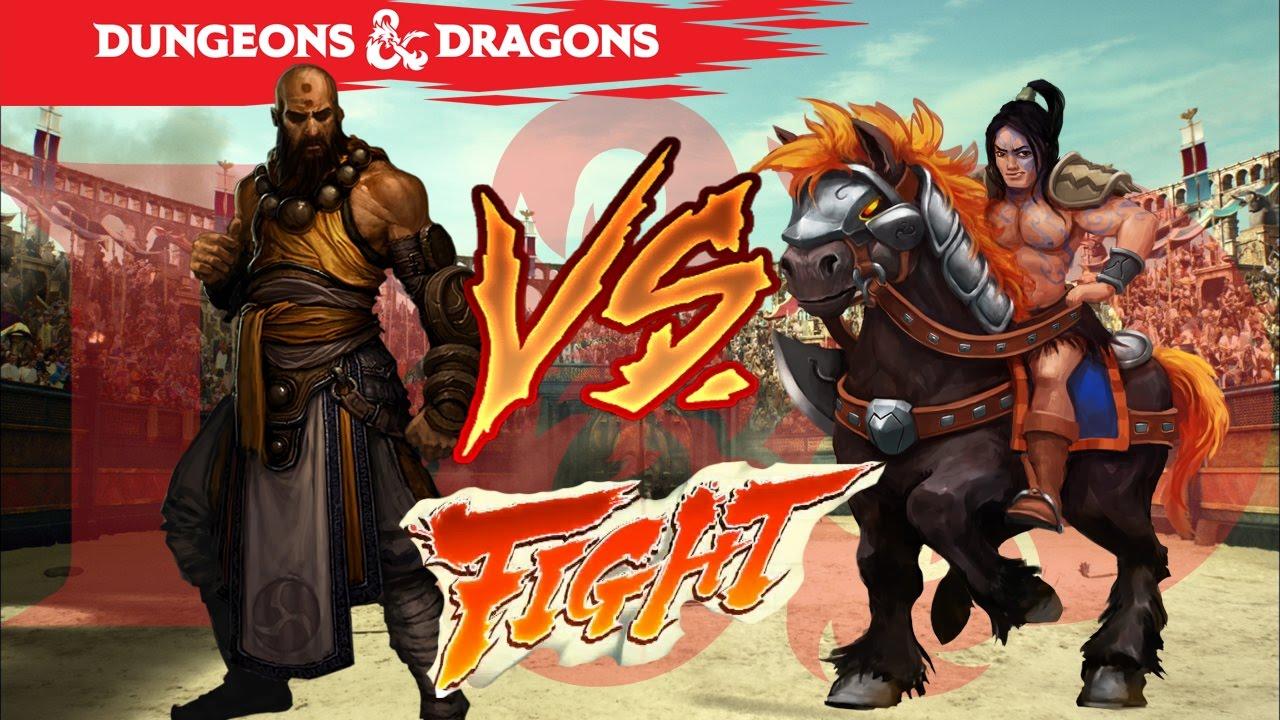 D&D 5e - MAX LEVEL Barbarian vs Monk!