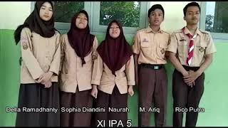 Tugas bhs. Inggris Invitation XI IPA 5