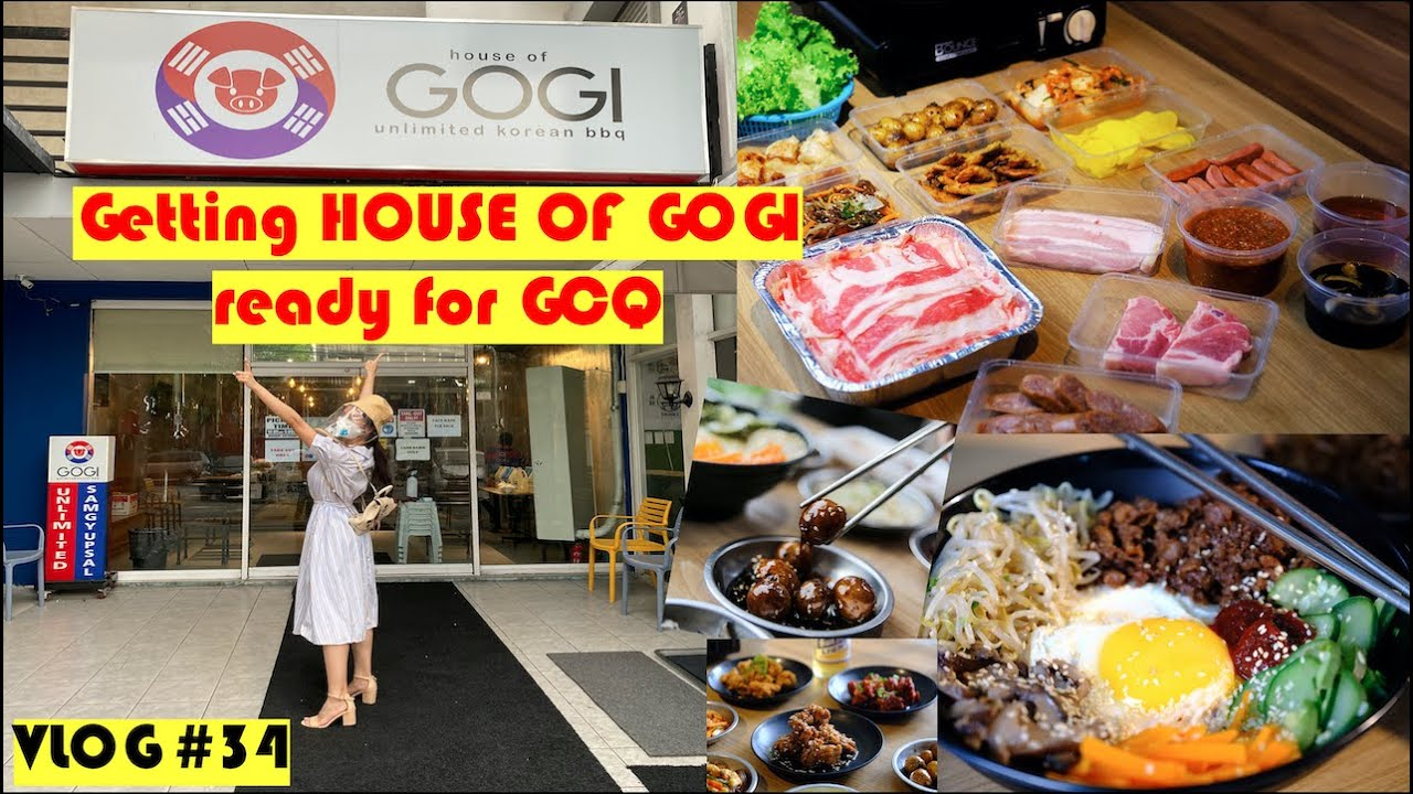 Your safety is my priority at HOUSE OF GOGI (GCQ Edition) | by Kris Bernal 💋