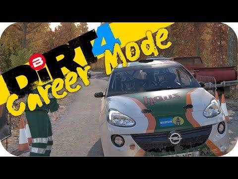 DIRT 4 Gameplay - RALLY CAREER MODE!!! w/ Ferrari F430 Wheel #3 Let's Play Dirt 4 Rally PC