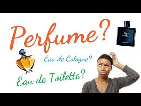 Difference between Perfume, Eau de Parfum, Eau de Toilette and Cologne? | Beauty Q&A #1