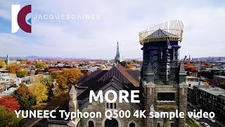 4K UHD AERIAL SAMPLE VIDEO FOOTAGE WITH THE YUNEEC Q500 TYPHOON's CGO3 CAMERA