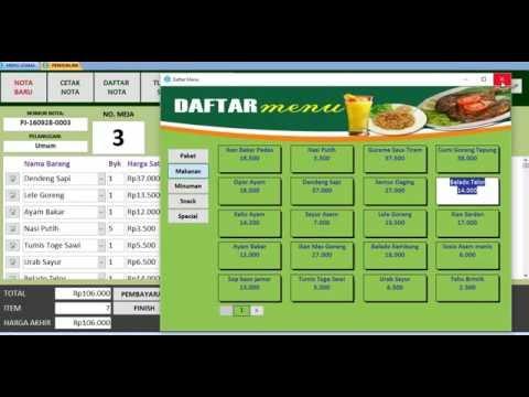 Q-Software Accounting |  Program Kasir Restauran, Rumah Makan dan Cafe