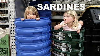 SARDINES AT LOWES!! | HIDE AND SEEK!