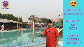 JUST CHILL WATER PARK REVIEW | BIG WATER SLIDES | DRONE SHOTS | WORTH IT OR NOT ? | DELHI |