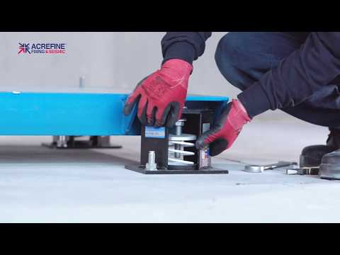 How To Install Seismic Spring Mounts With A Single Stud