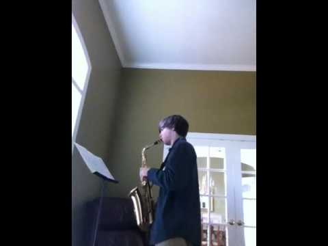 Alabama All-State Saxophone Exercise 2 2013
